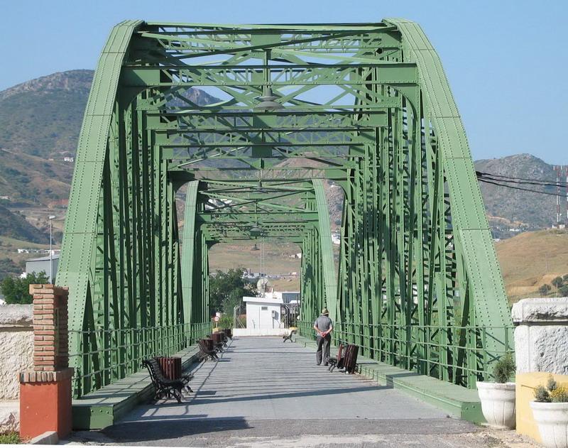 puente hierro cártama