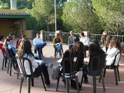 reuni�n de mediadores en un encuentro