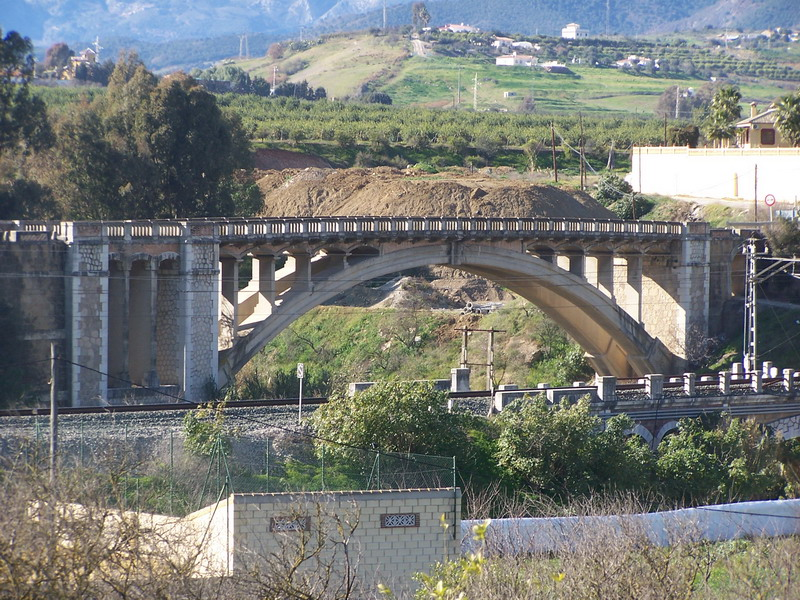 puentes guadalhorce